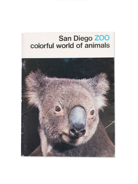 Vintage Book: San Diego Zoo: Colorful World Of Animals