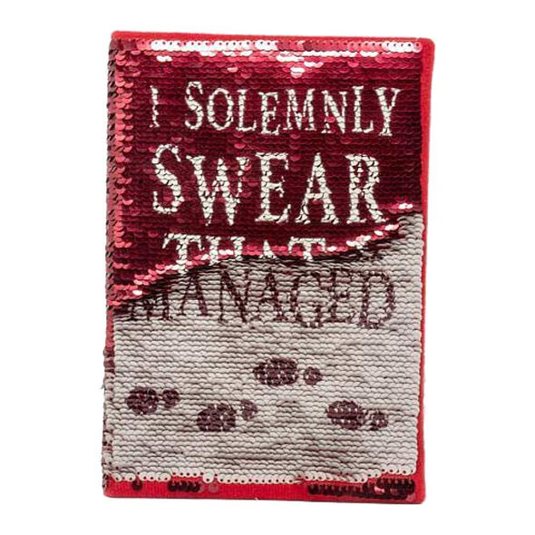 Harry Potter Solemnly Swear Sequin A5 Notebook