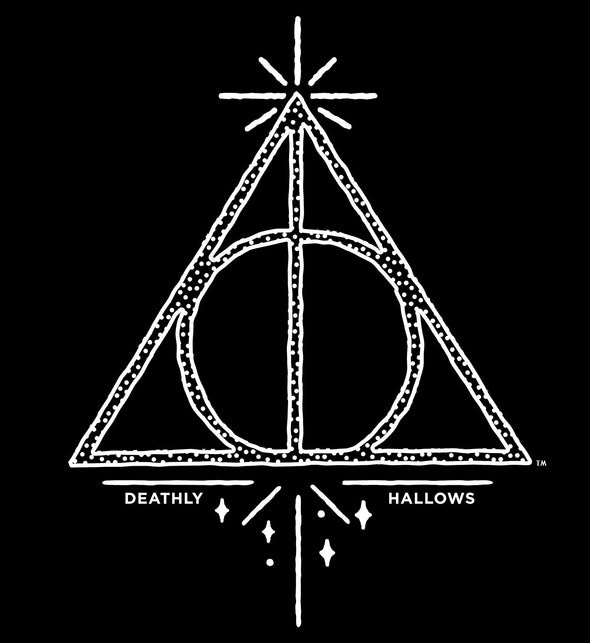 Harry Potter Deathly Hallows Magic Print Children's Unisex T-Shirt