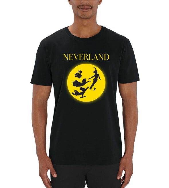 Disney Peter Pan Neverland Men's Black T-Shirt