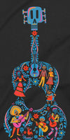 Disney Pixar Coco Guitar Men's Black T-Shirt