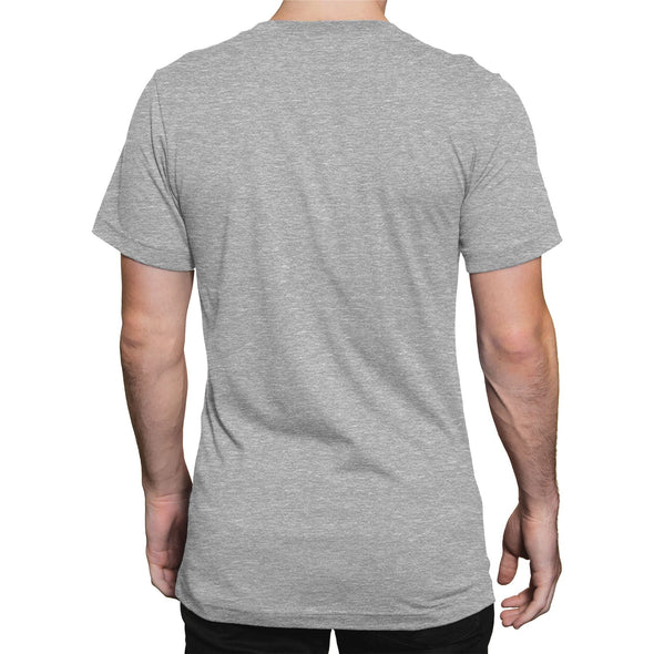 Laurel & Hardy Early To Bed Men's Grey T-Shirt