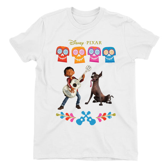 Disney Pixar Coco Miguel Men's White T-Shirt
