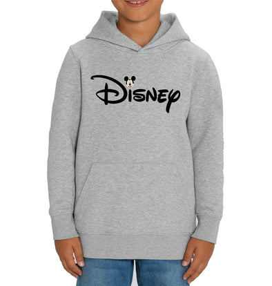 Disney's Mickey Mouse & Logo Children's Unisex Grey Hoodie