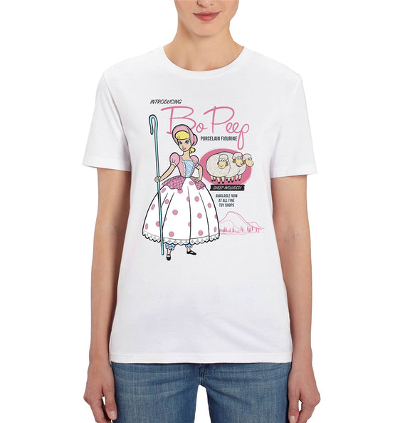 Disney Toy Story 4 Bo Peep Ladies White T-Shirt