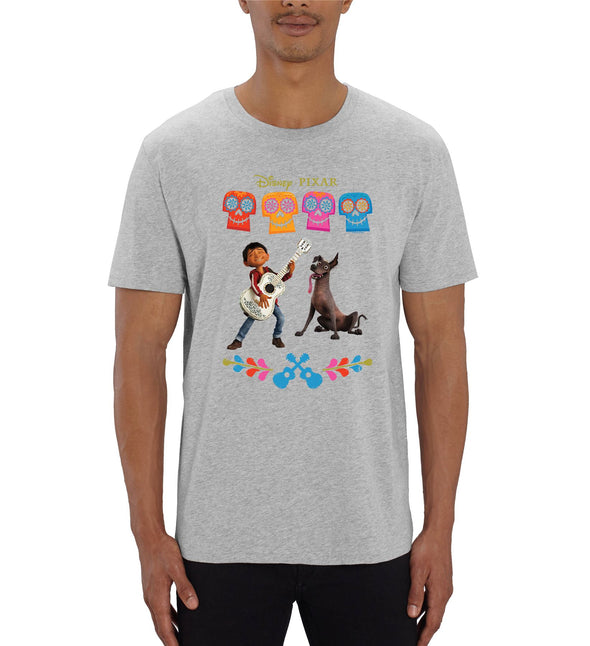 Disney Pixar Coco Miguel Men's Grey T-Shirt