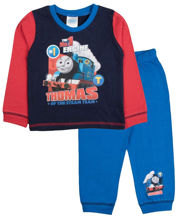 Boys Thomas Of The Steam Team Snuggle Fit Pyjamas