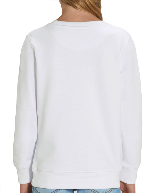 Disney's The Little Mermaid Ariel Children's Unisex White Sweatshirt