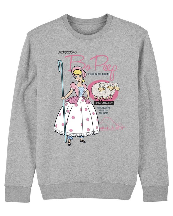 Disney Toy Story 4 Bo Peep Adults Unisex Grey Sweatshirt