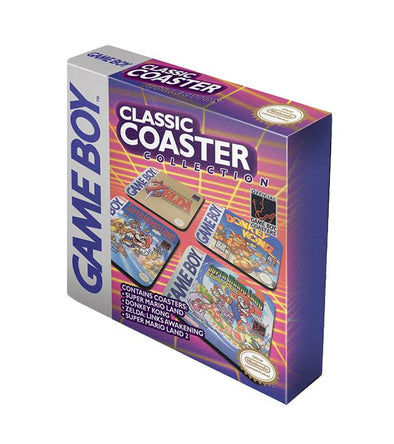 Gameboy Classic Collection Set of 4 Coasters