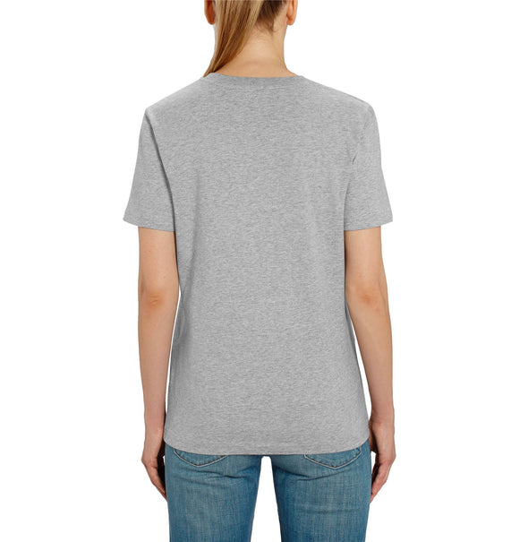 Mickey Mouse Wink Ladies Grey T-Shirt