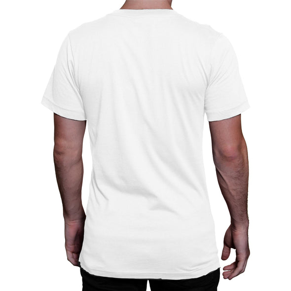Friends How You Doin? Men's White T-Shirt