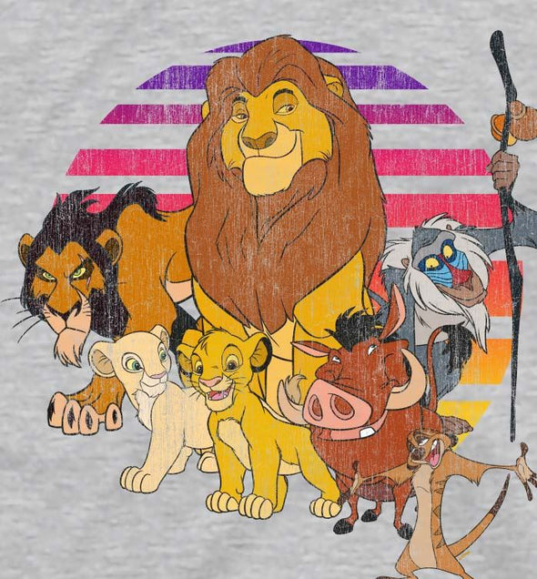 The Lion King Family Pride Children's Unisex Grey T-Shirt