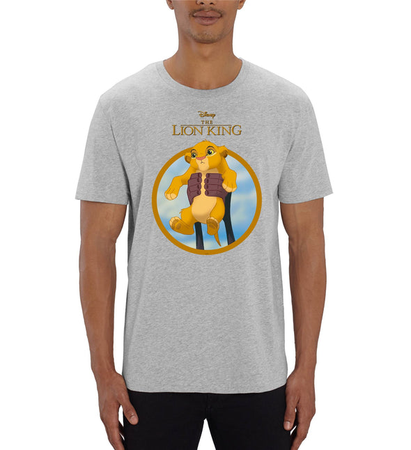 The Lion King Simba Show Men's Grey T-Shirt