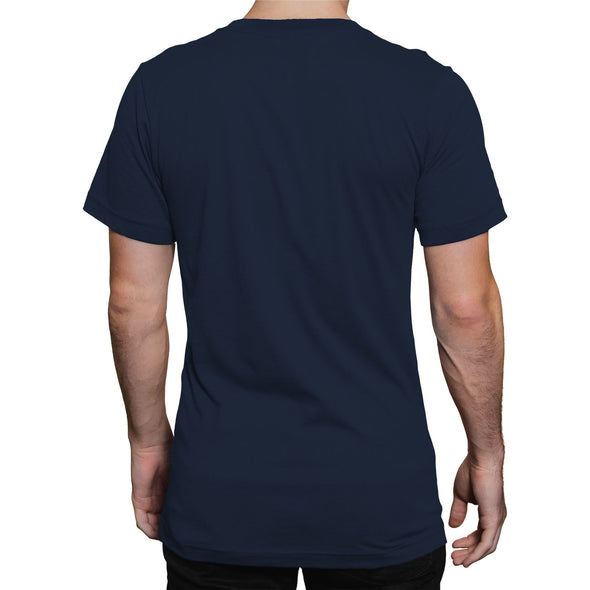 Spiderman Wanted Comic Book Cover Men's Navy T-Shirt