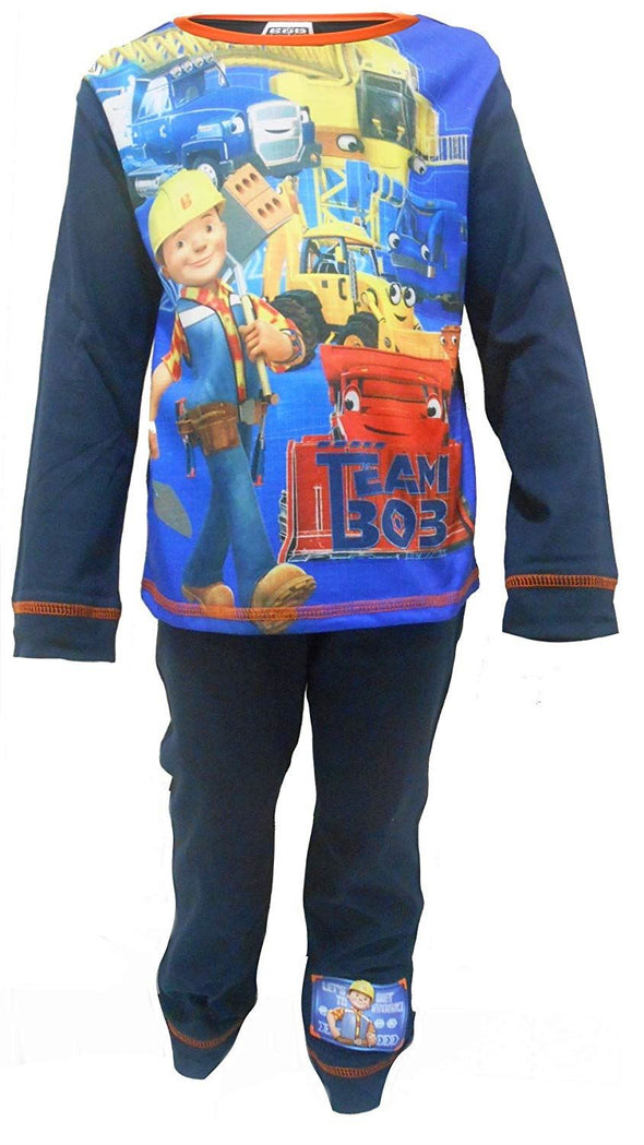Boys Bob The Builder Go Team Bob Snuggle Fit Pyjamas