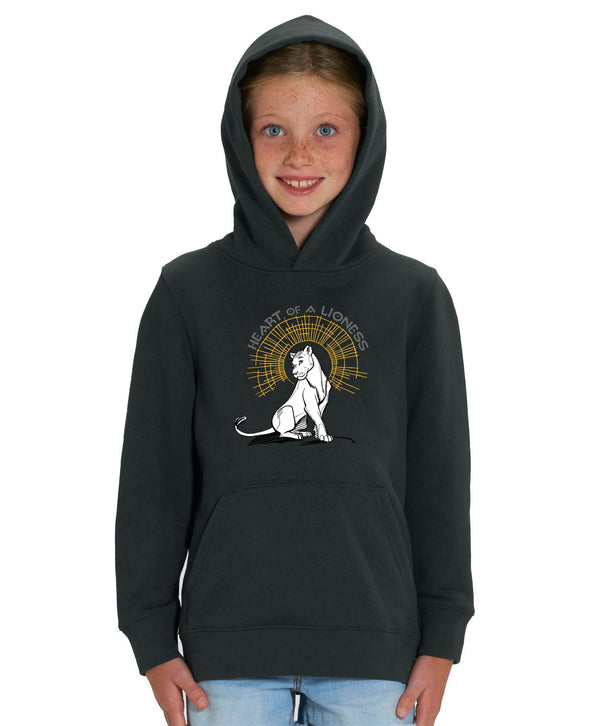 Heart of a Lioness Children's Unisex Black Lion King Hoodie