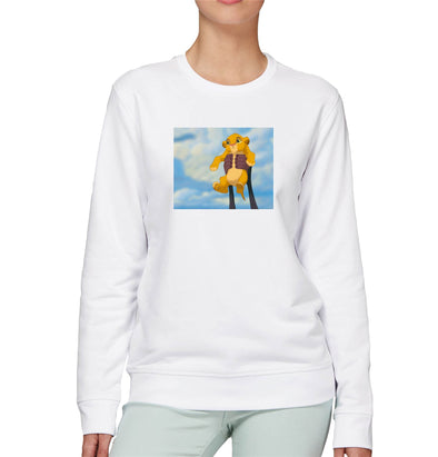 Disney's Lion King Simba's Iconic Circle of Life Lift Adults Unisex Sweatshirt