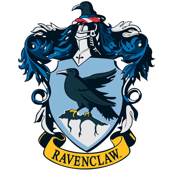 Harry Potter Ravenclaw Crest White Men's Short Sleeved Men's T-Shirt