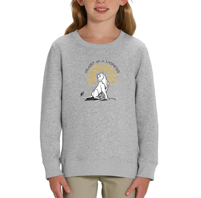 Heart of a Lioness Children's Unisex Grey Lion King Sweatshirt