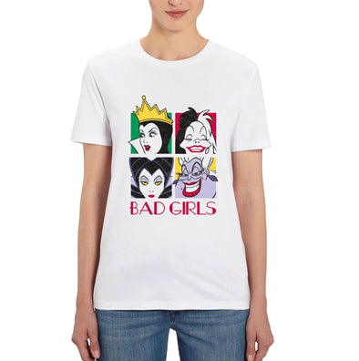 Disney's Bad Girls Ladies White T-Shirt