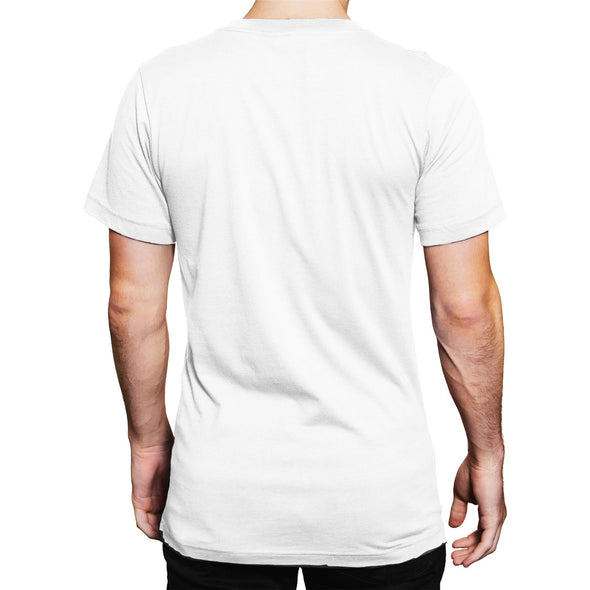 Avengers Endgame Heroic A Men's White T-Shirt
