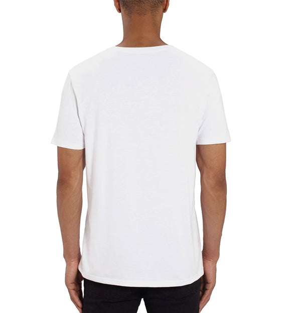 Mickey Mouse Wink Men's White T-Shirt
