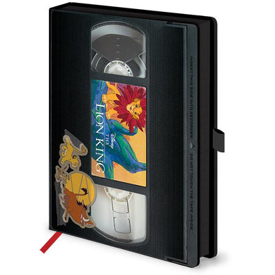 The Lion King Circle Of Life VHS Premium A5 Notebook