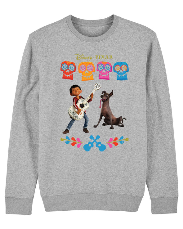Disney Pixar Coco Miguel Children's Unisex Grey Sweatshirt