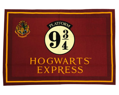 Harry Potter Platform 9 3/4 Red Tea Towel