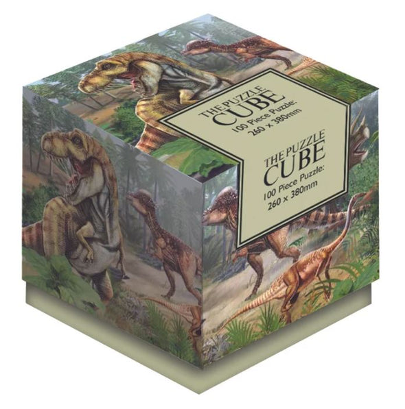 100 Piece Dinosaurs Jigsaw Puzzle Cube