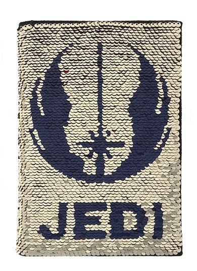 Star Wars Rise of Skywalker Choose Your Path A5 Sequin Flip Notebook