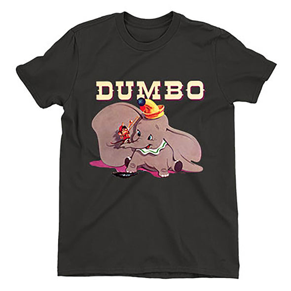 Dumbo & Timothy's Trombone Children's Unisex Black T-Shirt