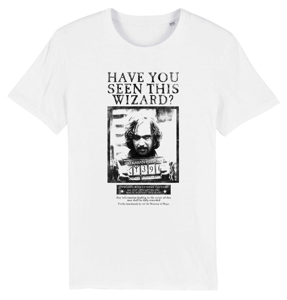 Harry Potter Sirius Black Wanted Poster Men's White T-Shirt