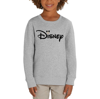 Disney's Mickey Mouse & Logo Children's Unisex Grey Sweatshirt