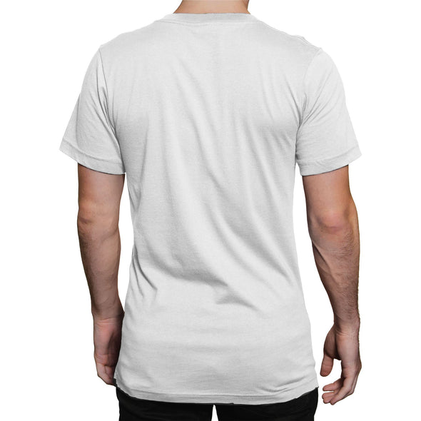Gomorrah Logo & Gun Shells Men's White T-Shirt