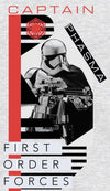 Star Wars Captain Phasma Children's Unisex Grey T-Shirt