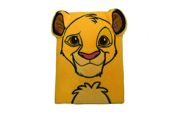The Lion King (Simba) Premium Furry Cover A5 Notebook