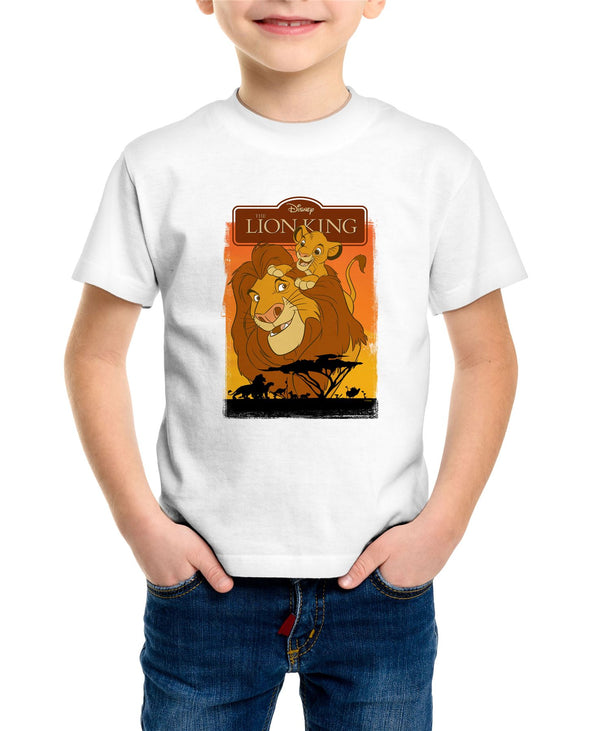 The Lion King Simba Children's Unisex White T-Shirt