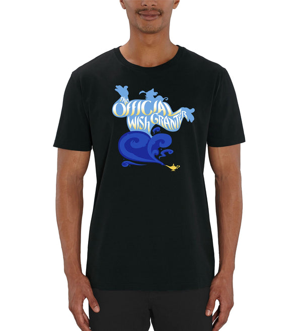 Aladdin Genie Official Wish Granter Men's Black T-Shirt