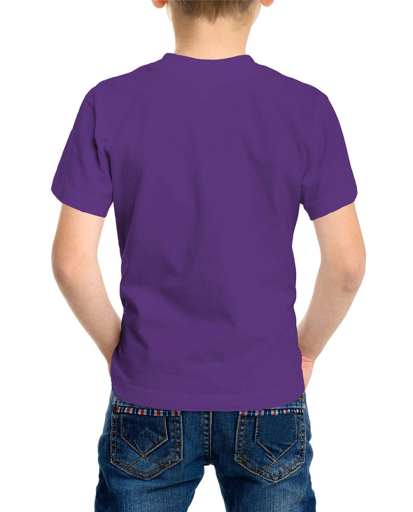Dumbo Oh Happy Days Children's Unisex Purple T-Shirt