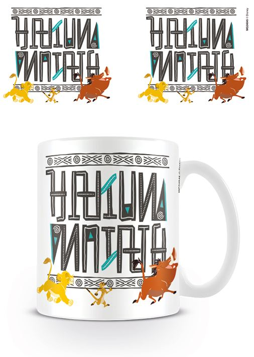 The Lion King Hakuna Matata Coffee Mug