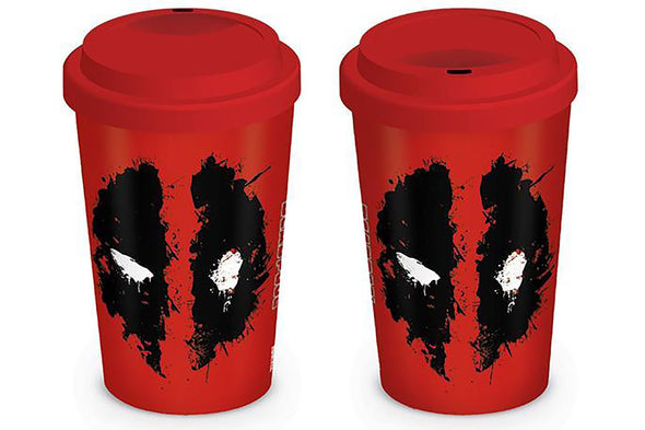 Deadpool Splat Travel Mug