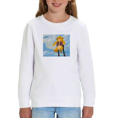 Disney's Lion King Simba's Iconic Circle of Life Lift Children's Unisex Sweatshirt