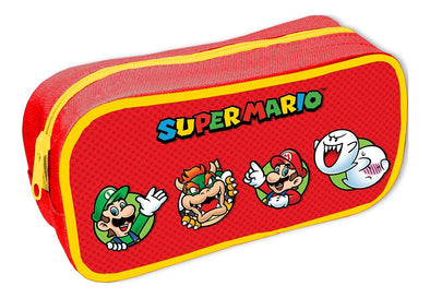 Super Mario Character Circles Unfilled Pencil Case