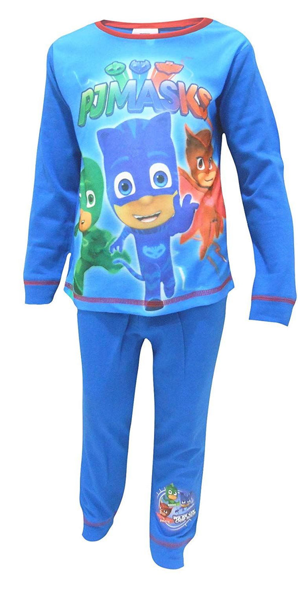 Boys PJ Masks We're On Our Way Snuggle Fit Pyjamas