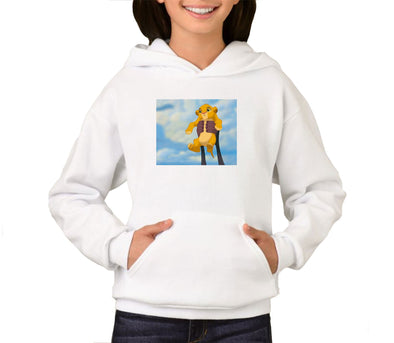 Disney's Lion King Simba's Iconic Circle of Life Lift Children's Unisex Hoodie