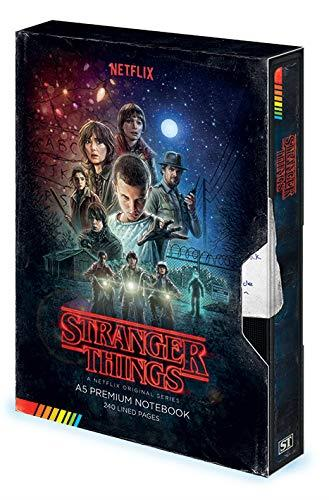 Stranger Things Premium A5 Notebook