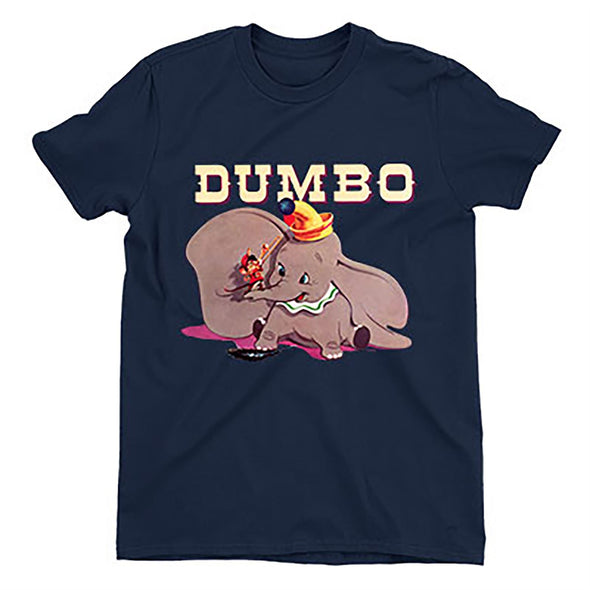 Dumbo & Timothy's Trombone Children's Unisex Navy T-Shirt