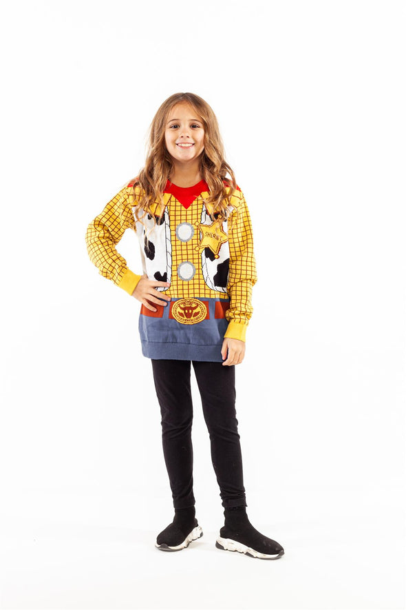 Toy Story Woody Costume Children's Knitted Jumper